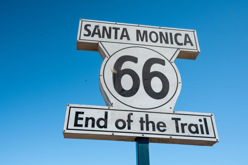 Ende der Route 66 Santa Monica Pier