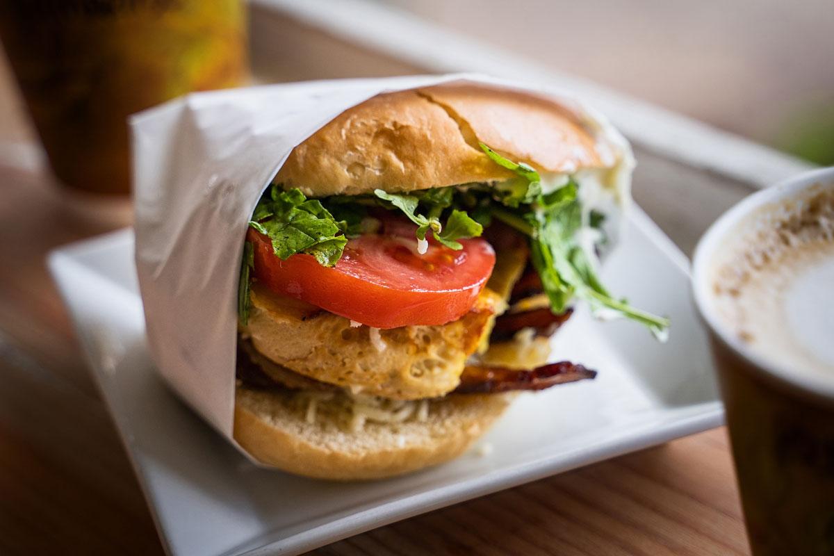 Brekkie Sandwich Hanalei Bread Company