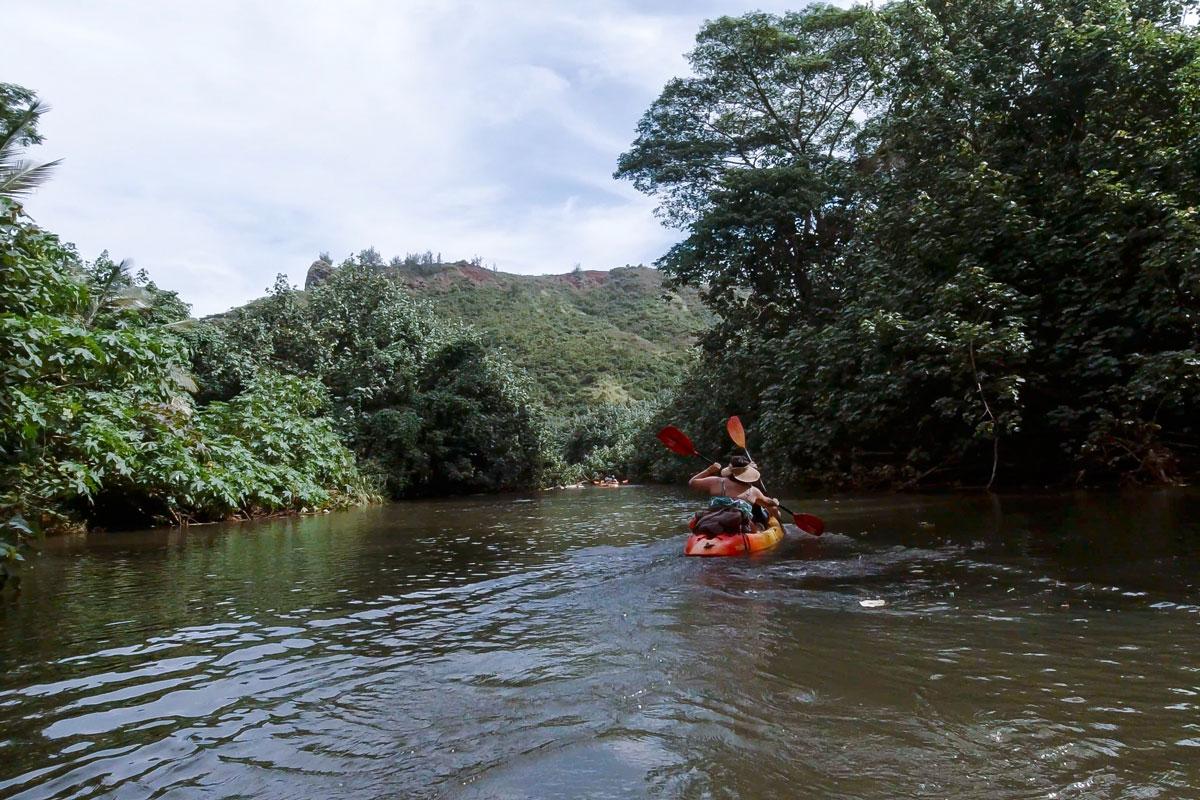 Kauai Hawaii Kajak Waimea River