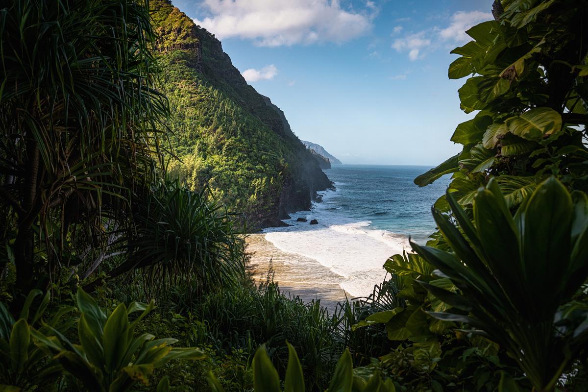 Kalalau Trail Strand Kauai Island