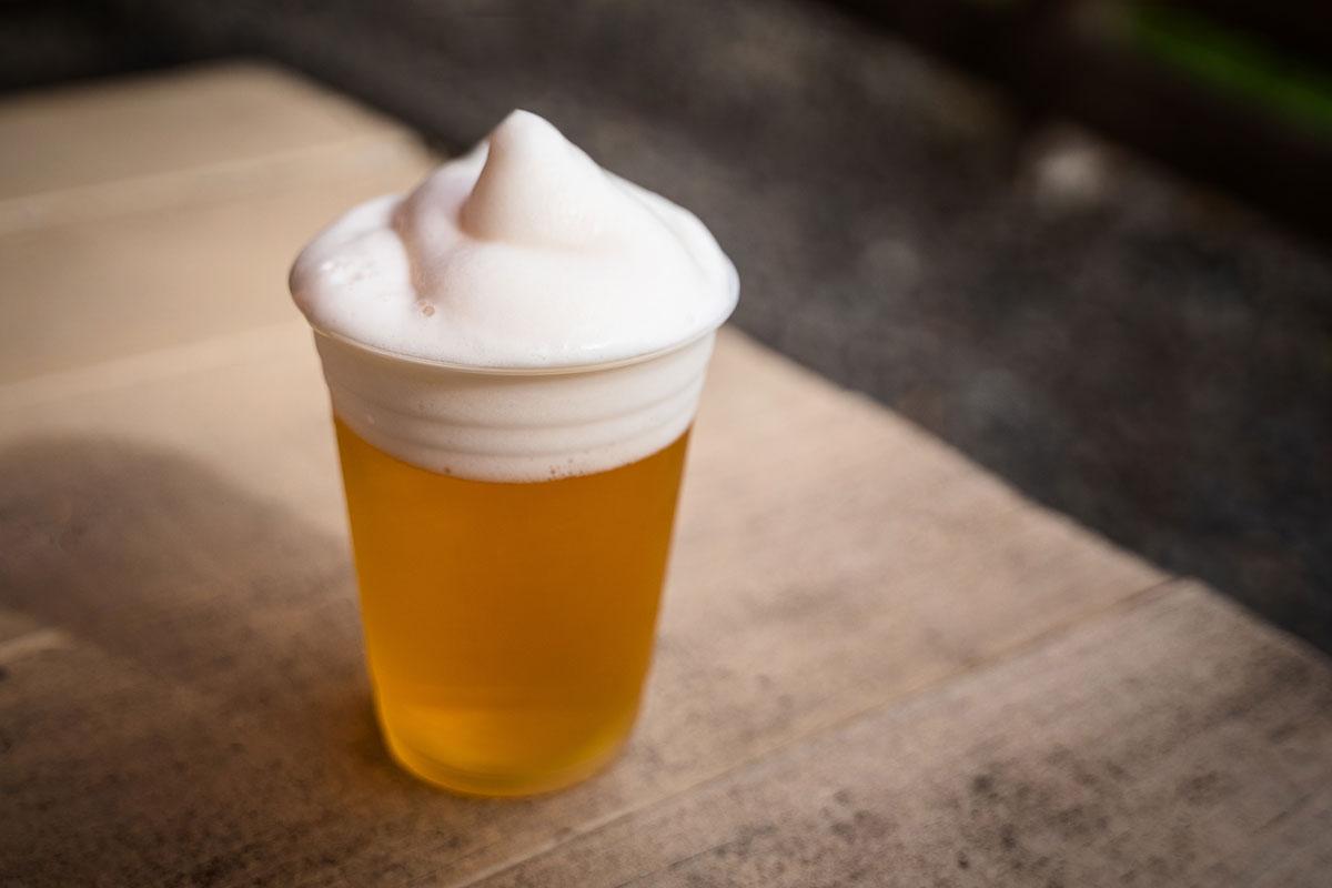 Bier Schaumkrone Eis Kenji Burger Kauai