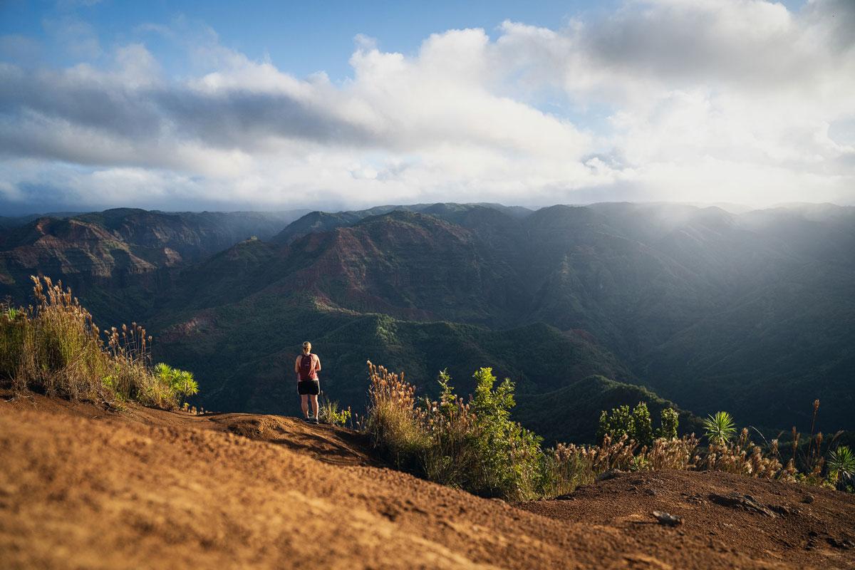 Kukui Trail Waimea Canyon Insel Kauai