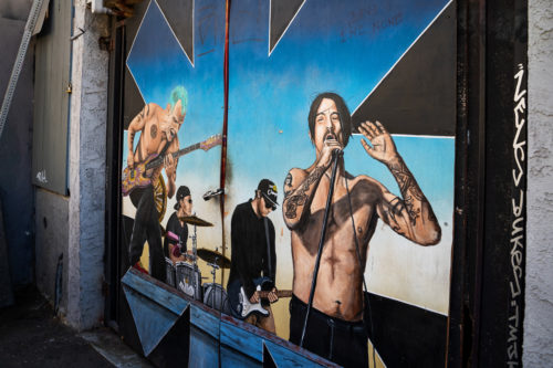 Red Hot Chili Peppers Street Art Venice