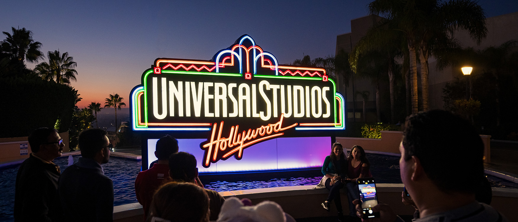Eingang Universal Studios Hollywood Los Angeles