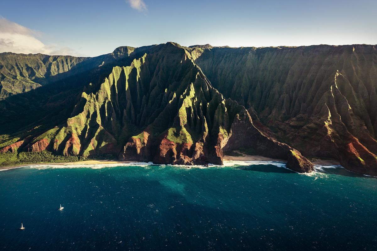 Na Pali Coast Insel Kauai Helikopter