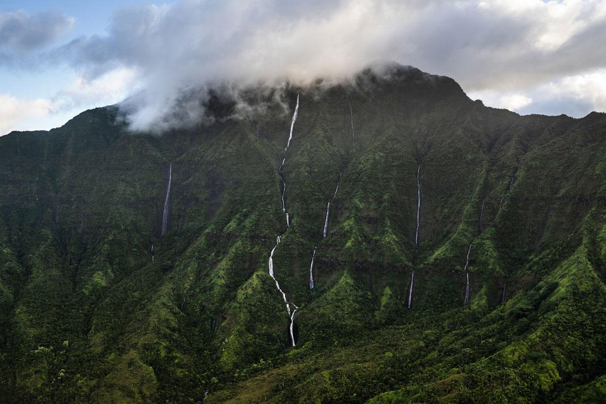 Kauai Sehenswürdigkeit Wai'ale'ale Crater
