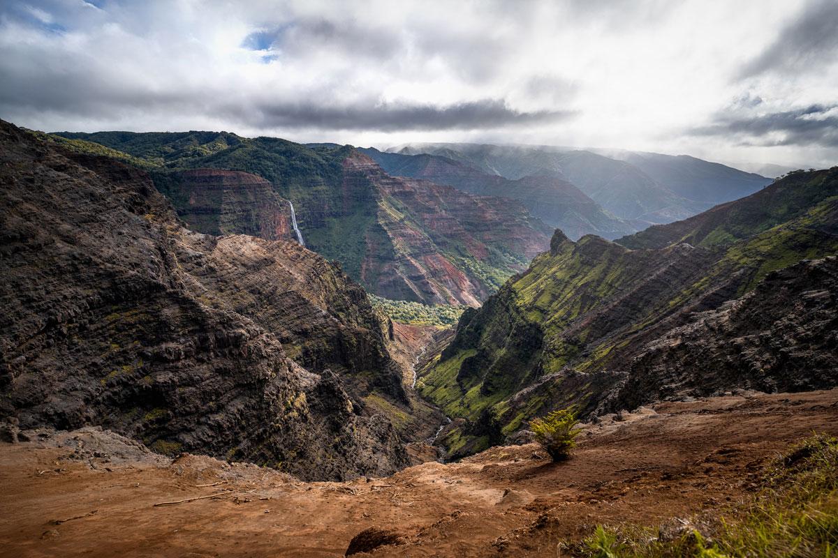 Waimea Canyon Lookout Insel Kauai Hawai