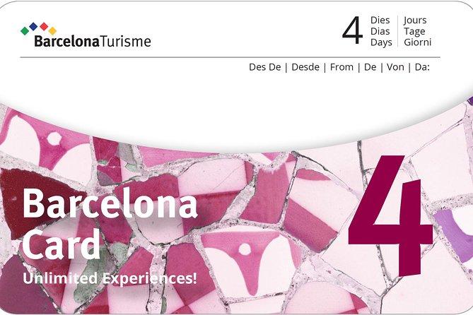 Barcelona Card 4 Tage