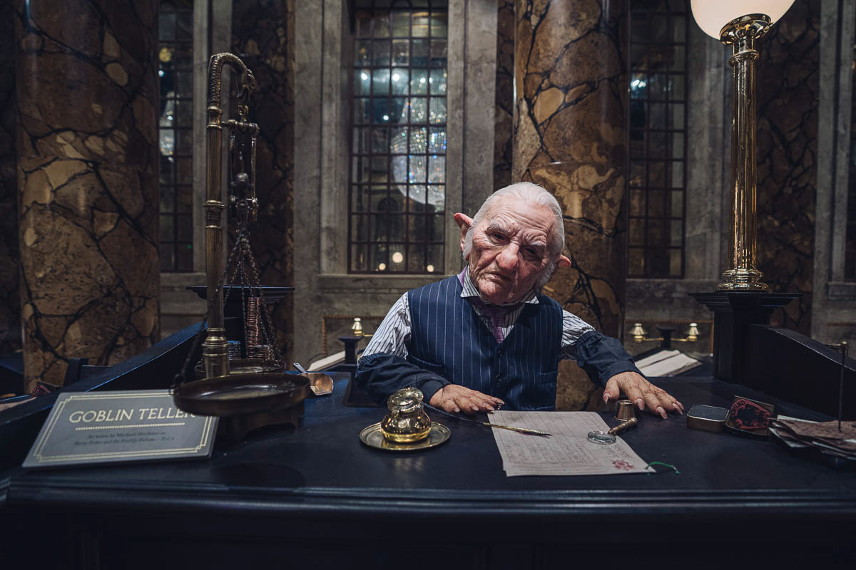 Gringotts und die Goblins Harry Potter Tour