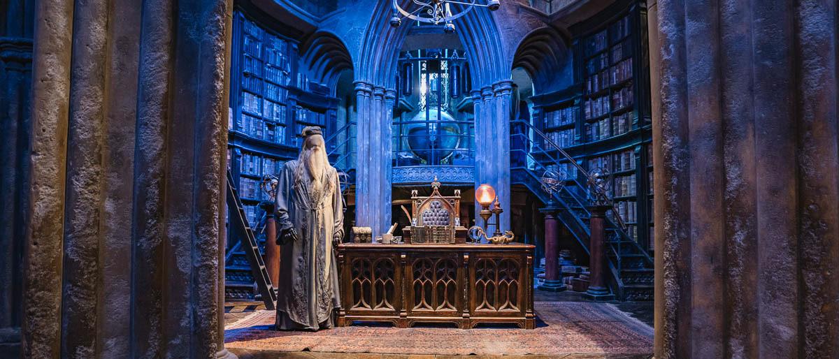 Professor Dumbledors Büro