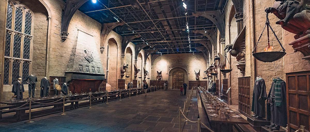 Hogwarts große Halle London.