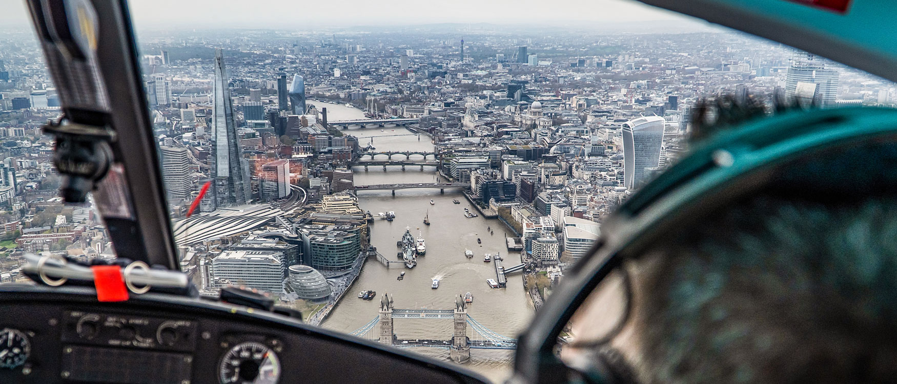 London Touren: Helikopterrundflug