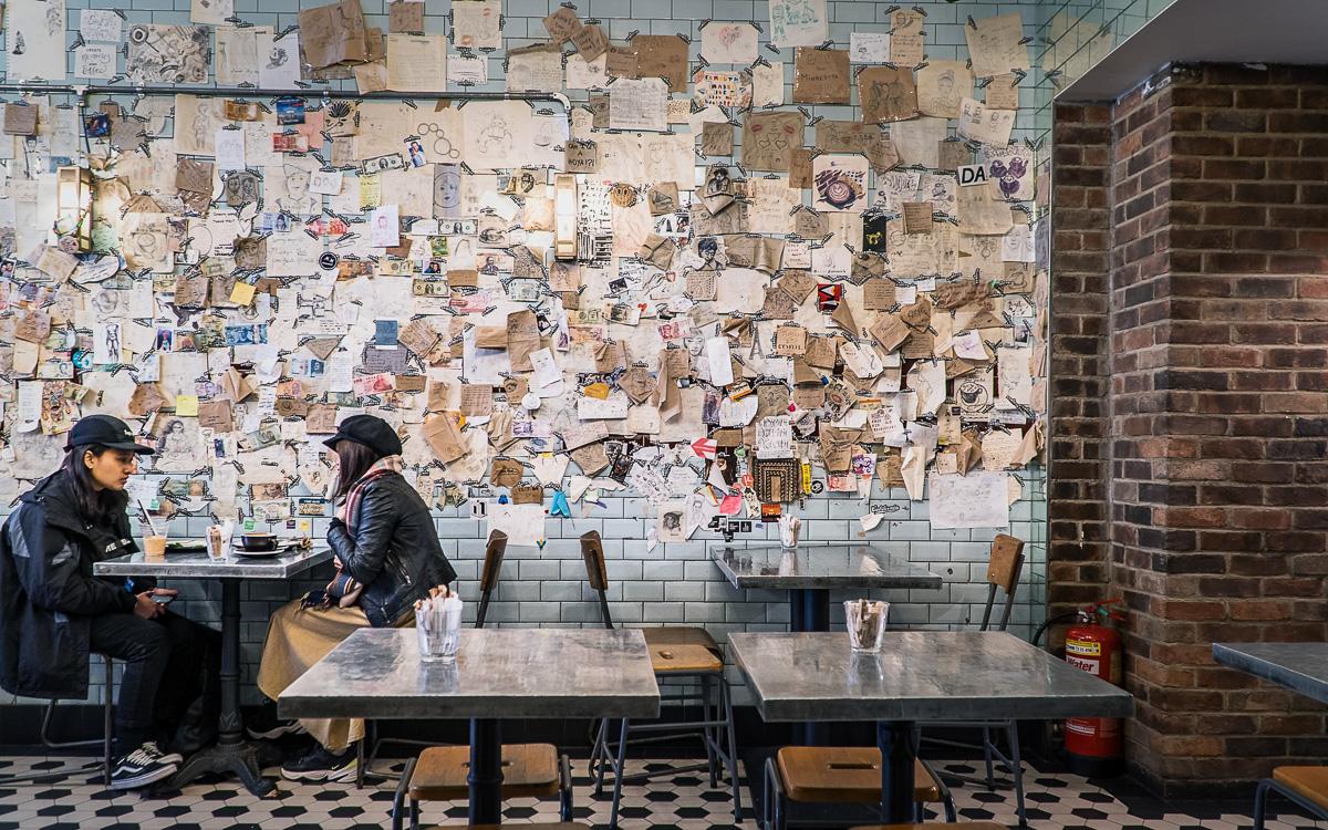 Exmouth Coffee: Toller Café & Frühstück in London