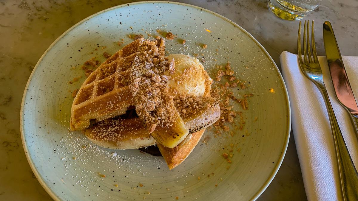 Ducks and Waffle London essen (Frühstück)