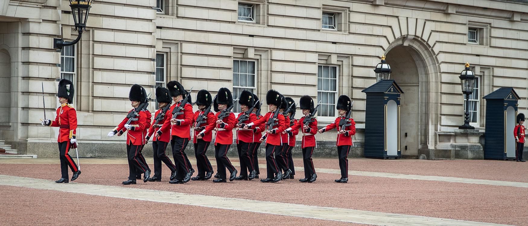 Buckingham Palace Wachablösung London