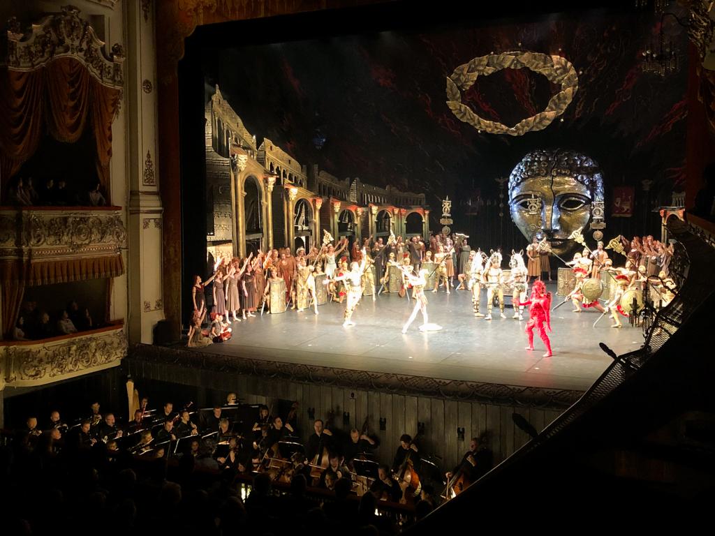 Russisches Ballett St. Petersburg Mikhailosky Theatre