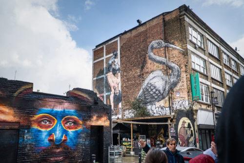 ROA Street Art London