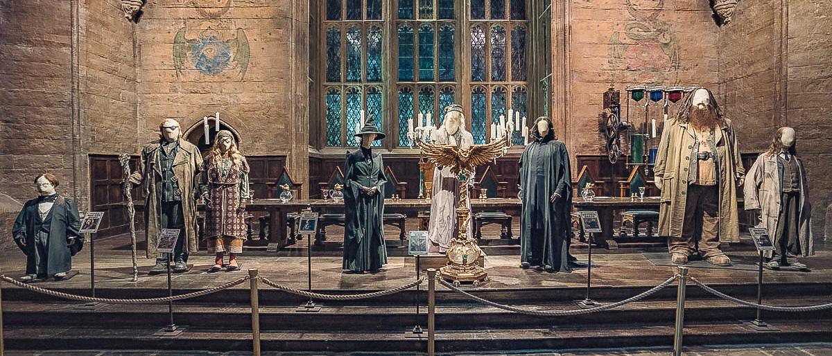Kostüme große Halle Hogwarts