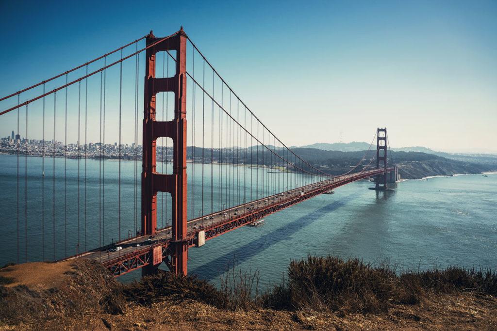 Aussichtspunkt Golden Gate Bridge Battery Spencer