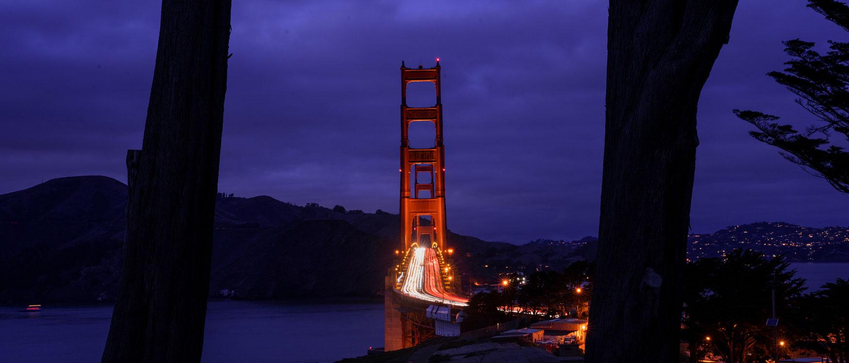 Golden Ggate Bridge Overlook San Francisco