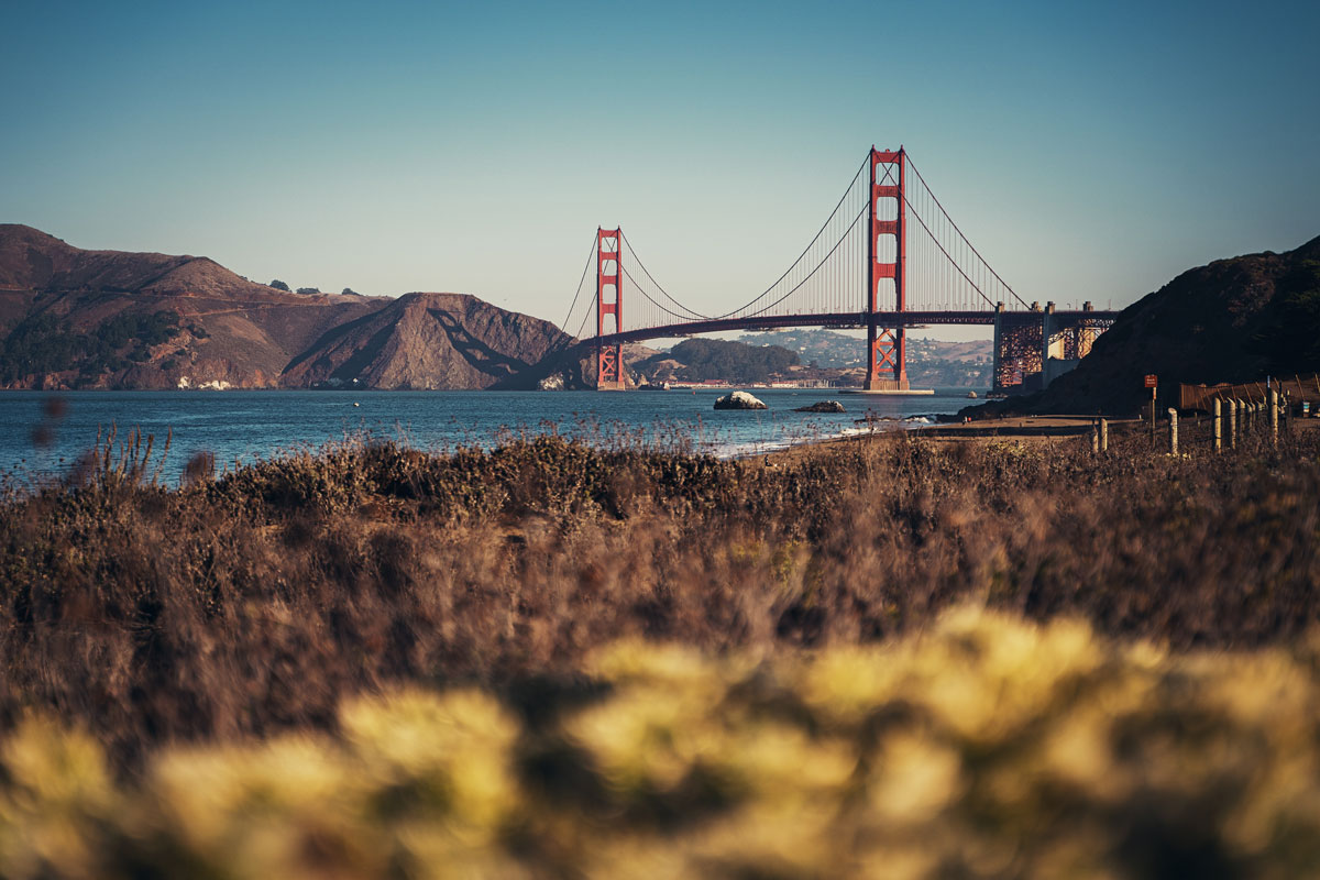 Golden Gate Bridge Aussichtspunkt: Baker Beach