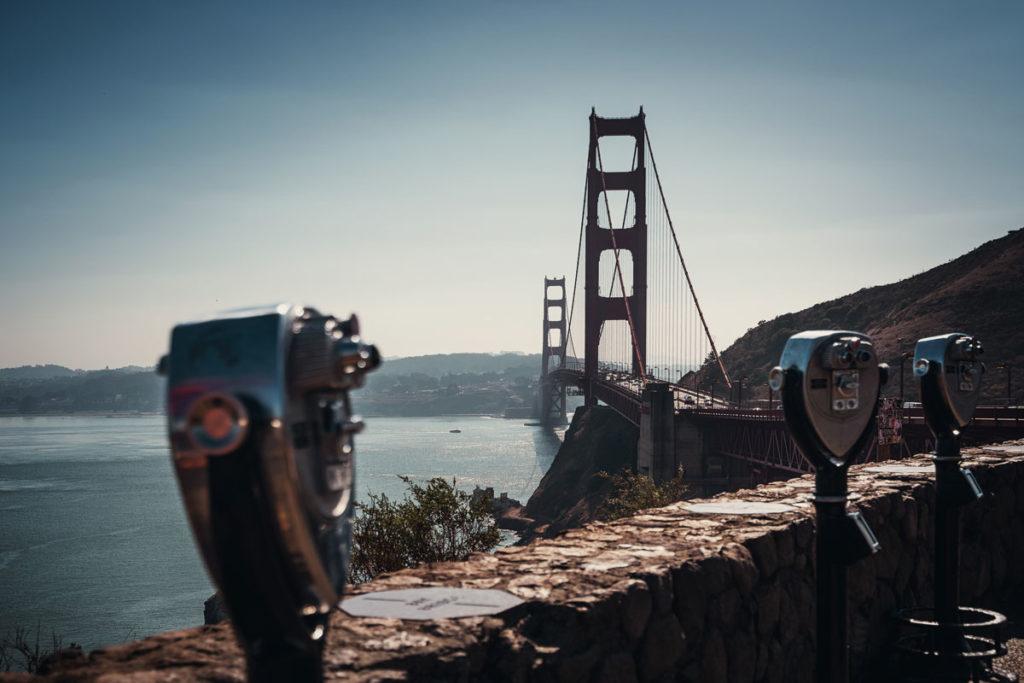Vista Point Golden Gate Aussichtspunkt