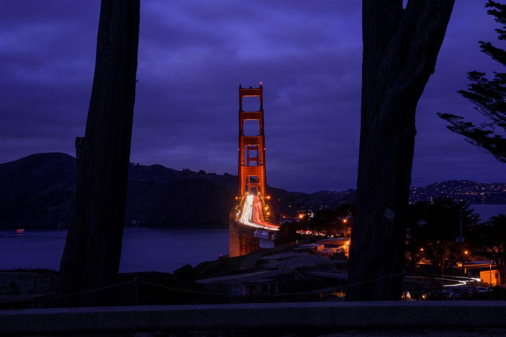 Golden Gate Overlook im Presidio