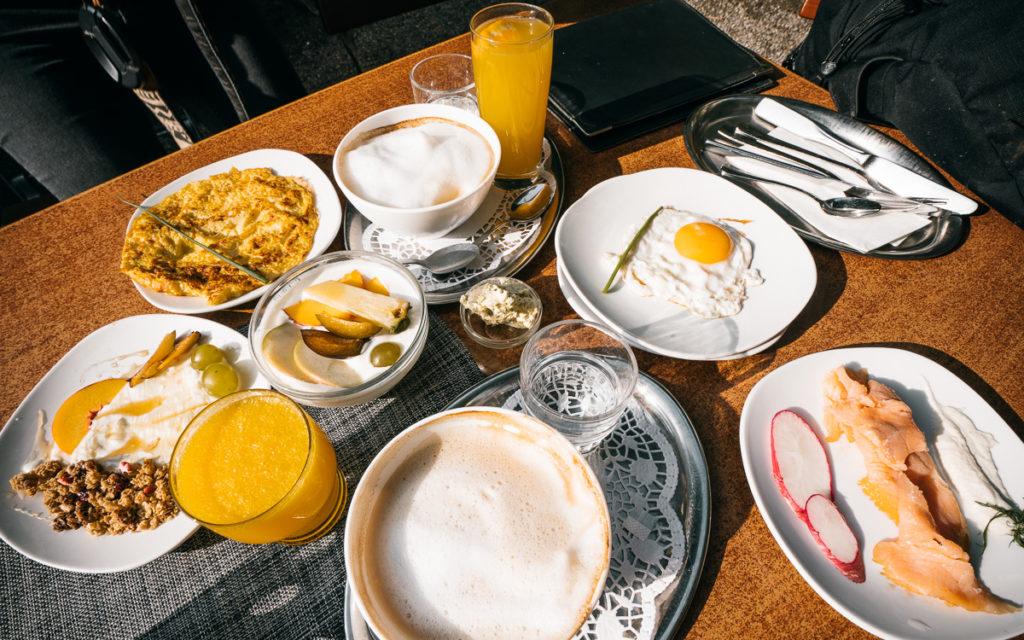 Cafe Zeitlos in Konstanz Frühstück