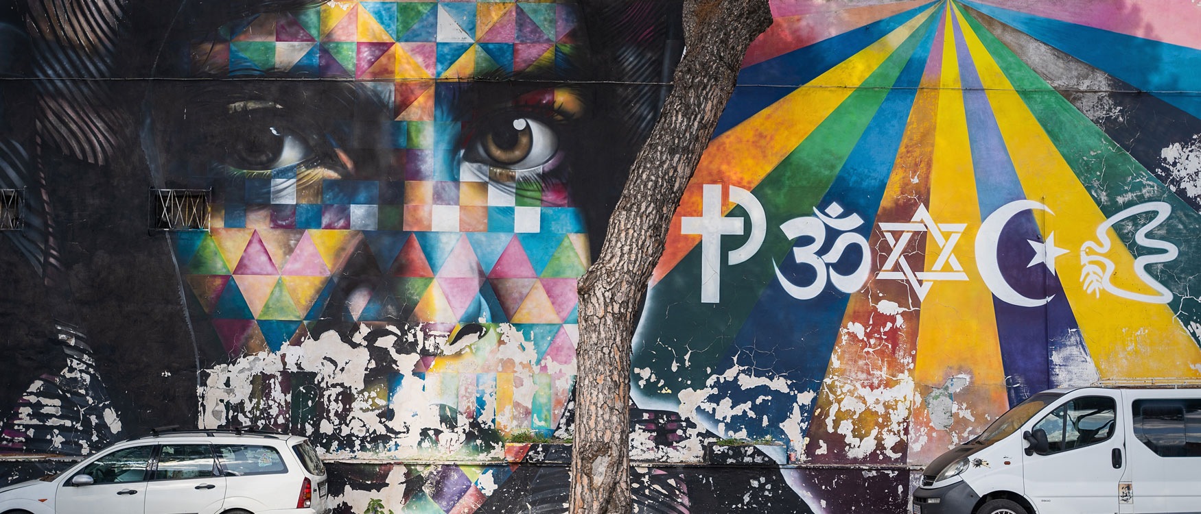 Street Art Rom von Kobra