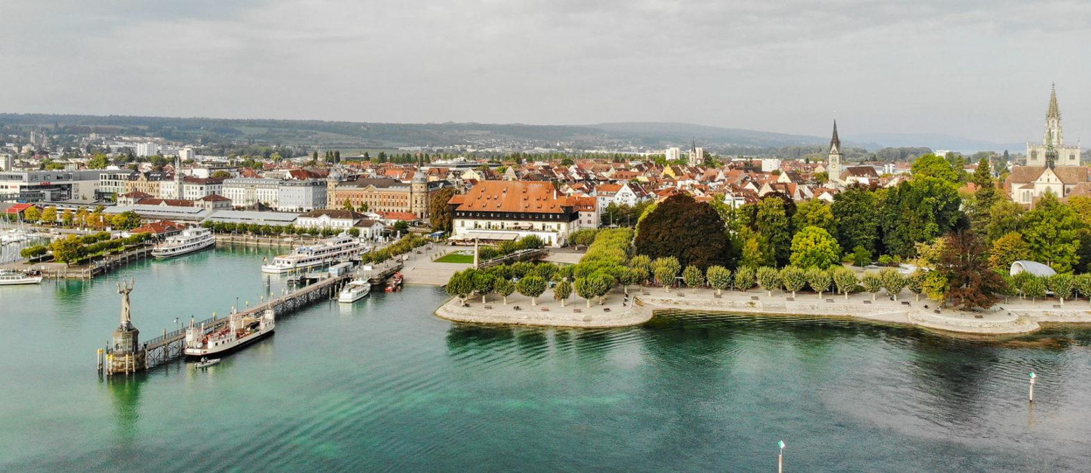 Luftaufnahme Konstanz Bodensee