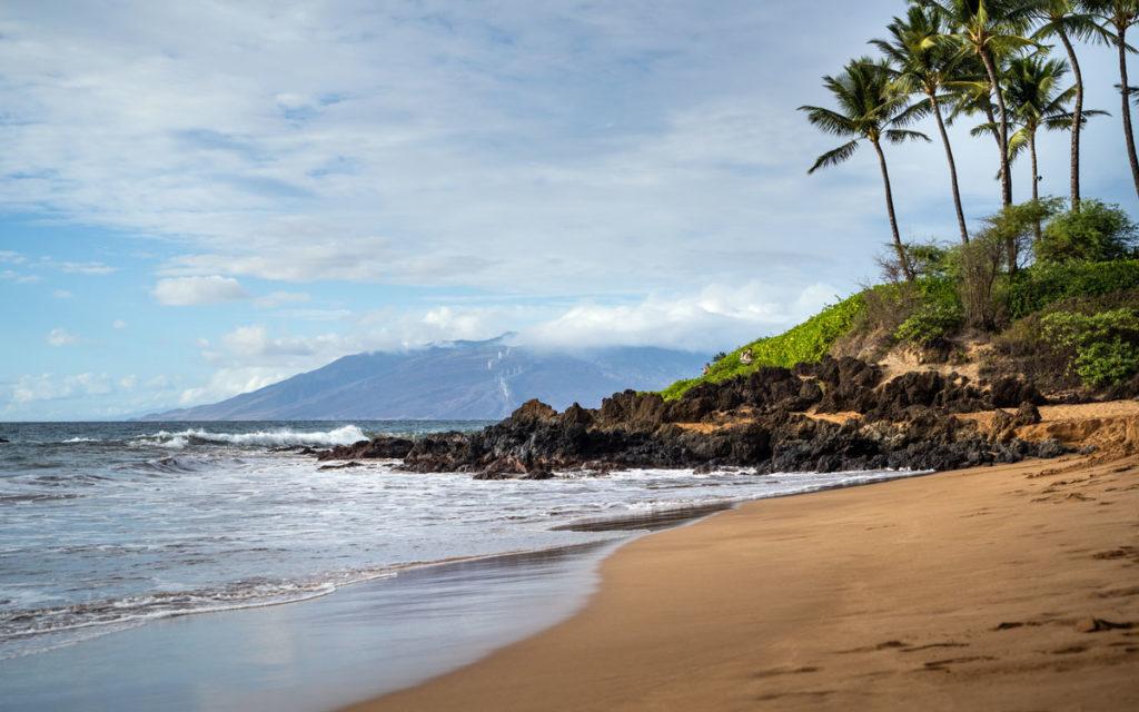 Oneloa Beach East Maui