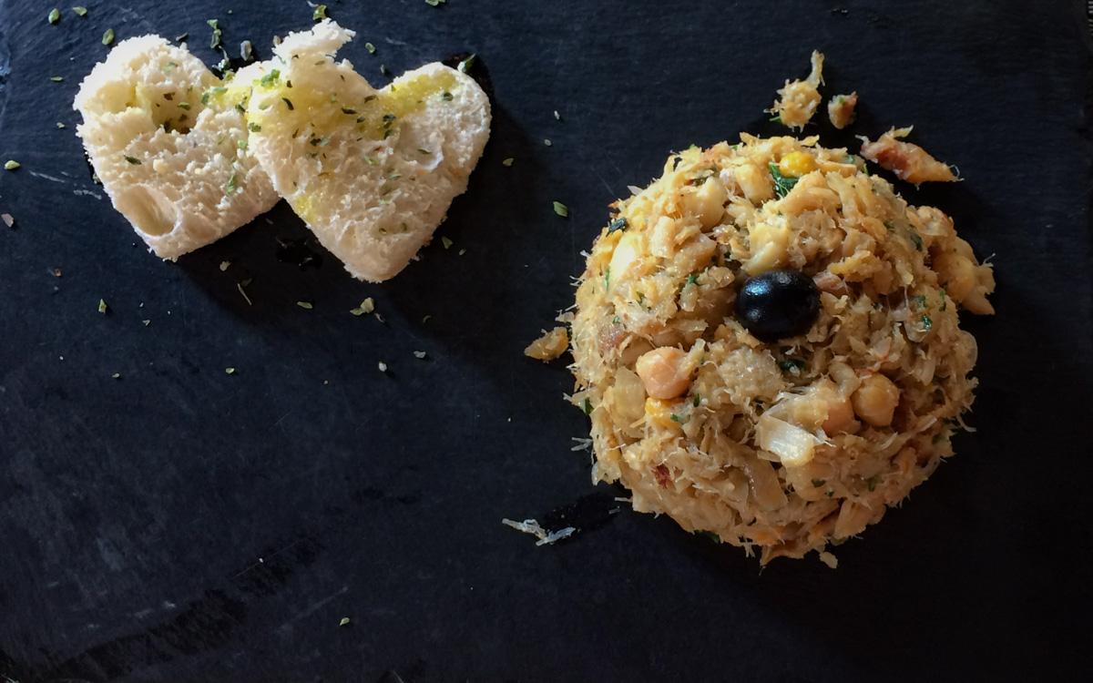 Bacalhau beliebtes Gericht der portugiesischen Küche.