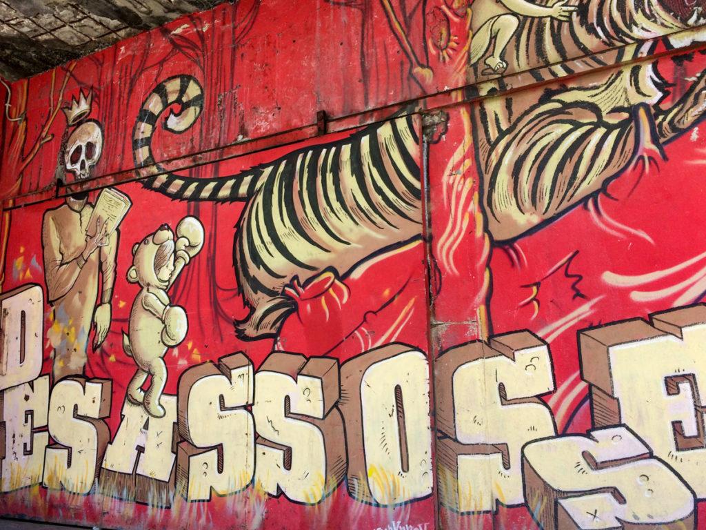 Street Art Lissabon LX Factory Highlight