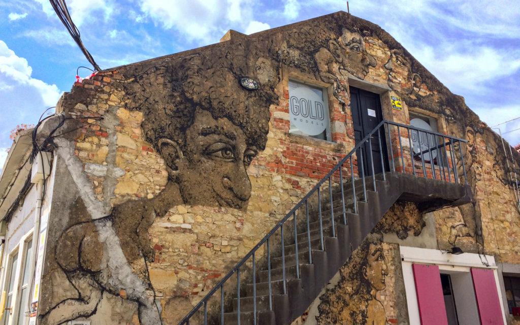 Street Art Lissabon LX Factory