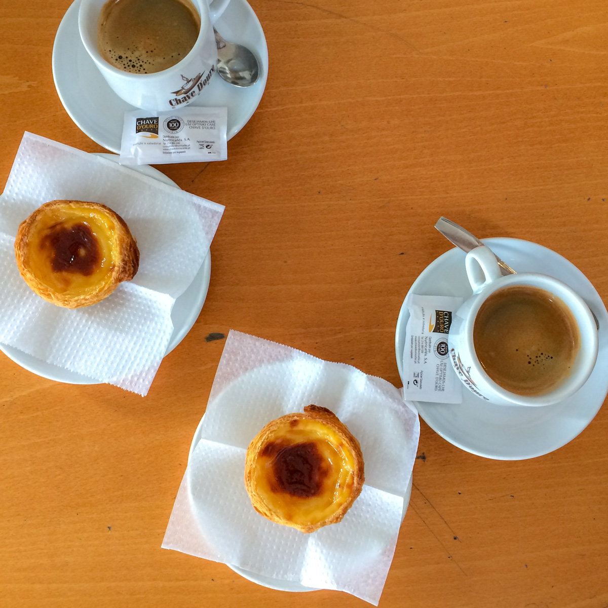 Die süßeste Sünde Portugals: Pastéis de Nata.