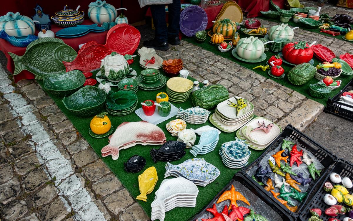 Porzellan aus Lissabon ist ein beliebtes Souvenir