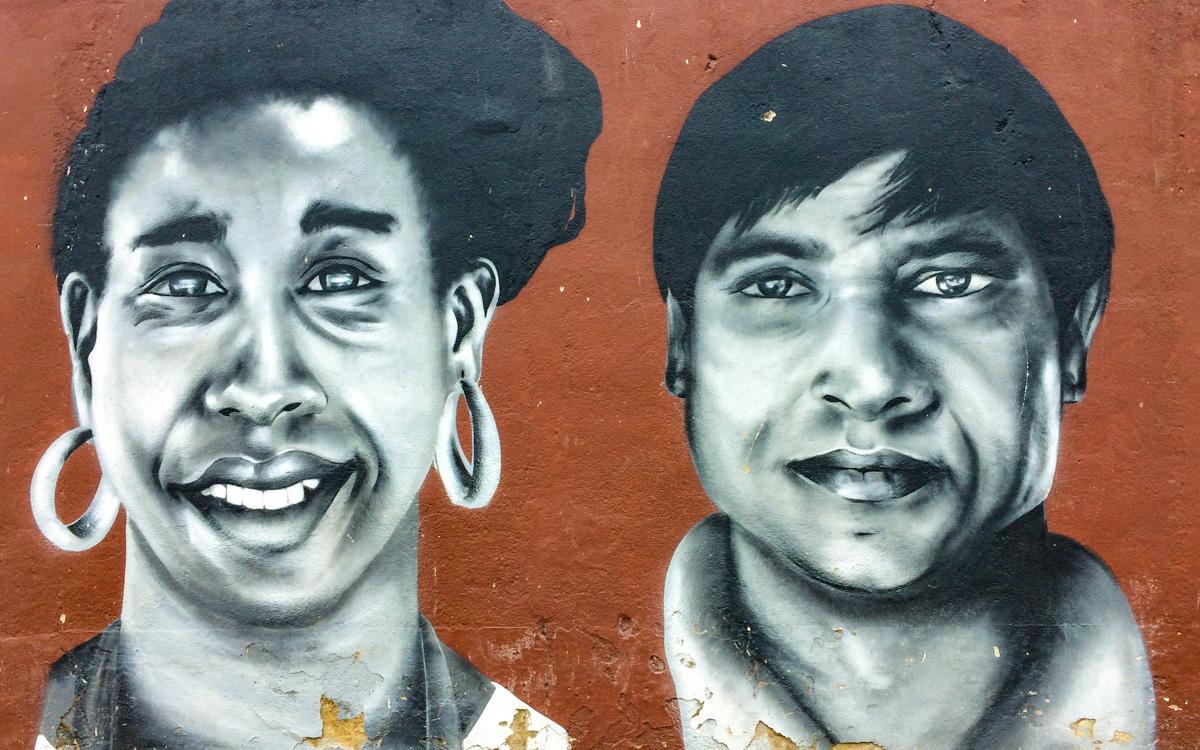 Street Art Szene ist in Lissabon extrem aktiv.