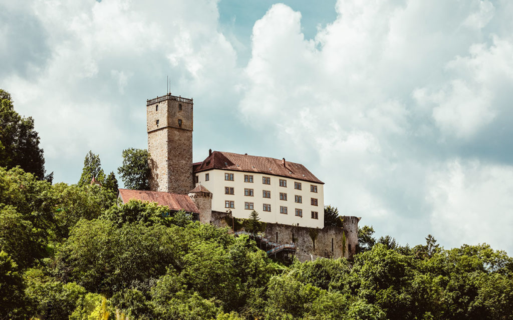 Mikroabenteuer Idee: Motto Tour Burgen