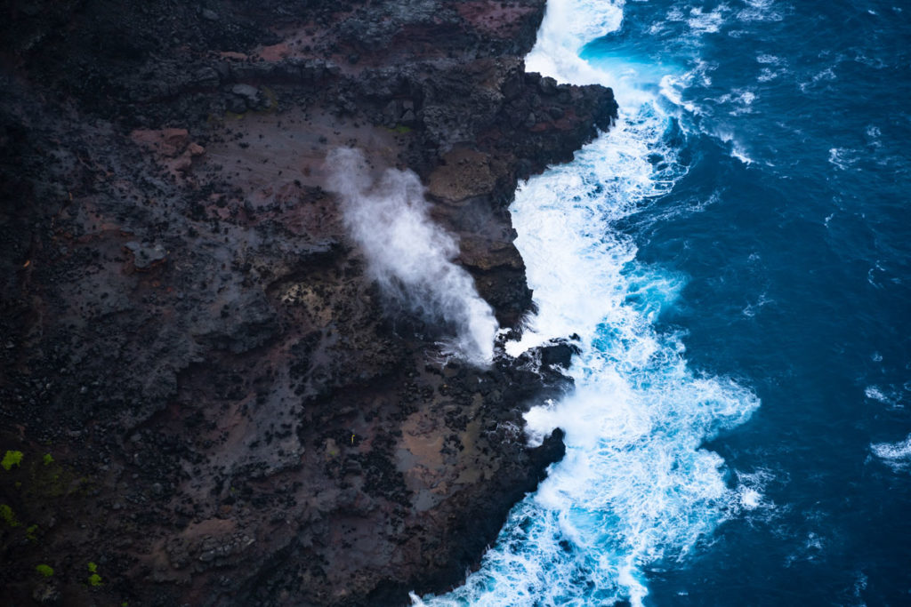Nakalele Blowhole an der Nordküste auf West Maui