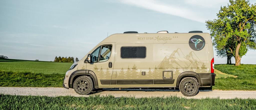 Tourne Wohnmobil Peugeot Boxer VIEL UNTERWEGS