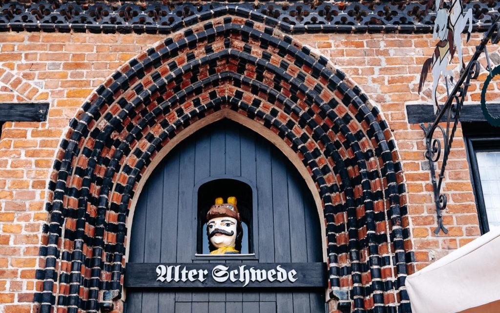 Alter Schwede Wismar Eingang