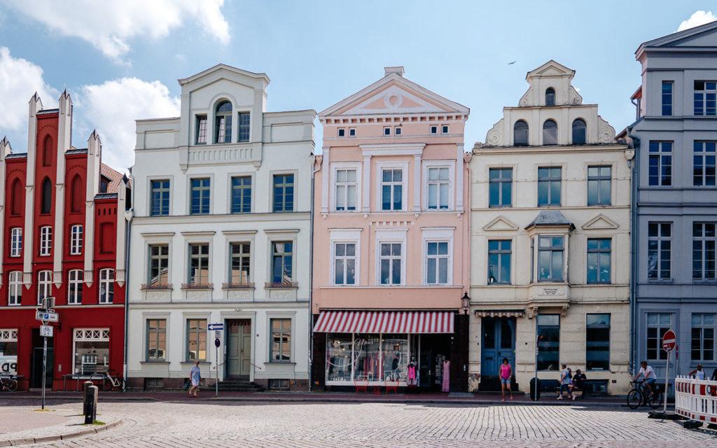 Schöne Häuser Wismar