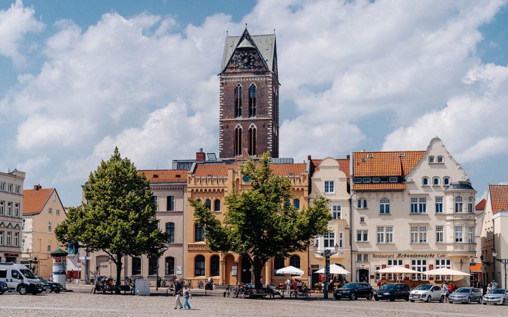 Marienkirche Turm Wismar