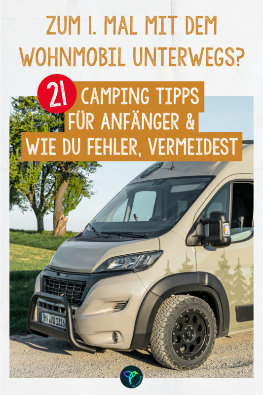 Camping Fehler vermeiden Pinterest Pin