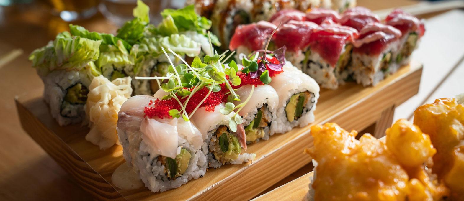 Essen auf Sylt Sushi