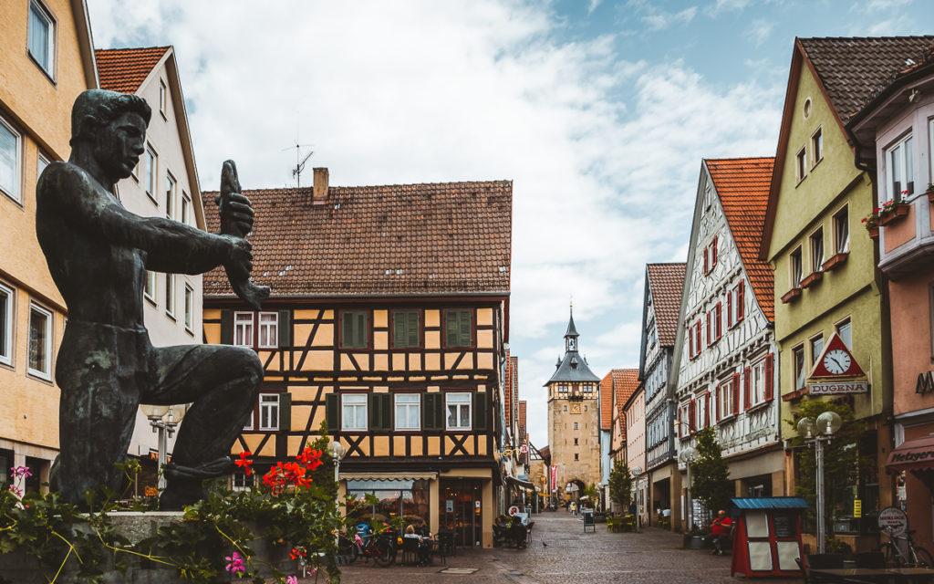 Stuttgart Ausflugsziele: Marbach am Neckar.