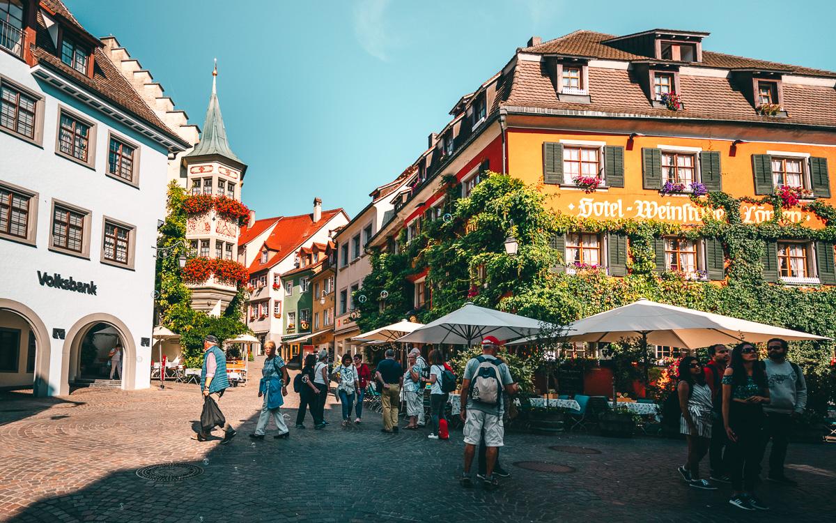 Marktplatz Meersburg Bodensee