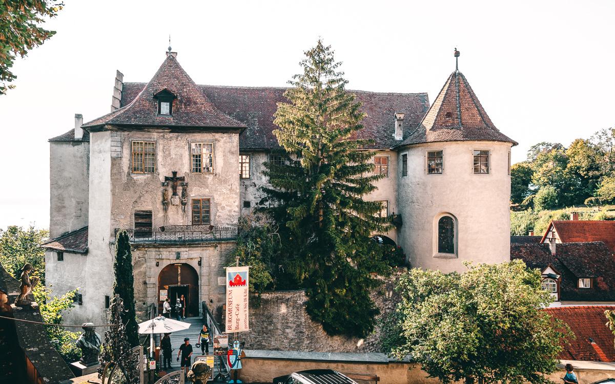 Die Burg (Altes Schoss) Meersburg Bodensee