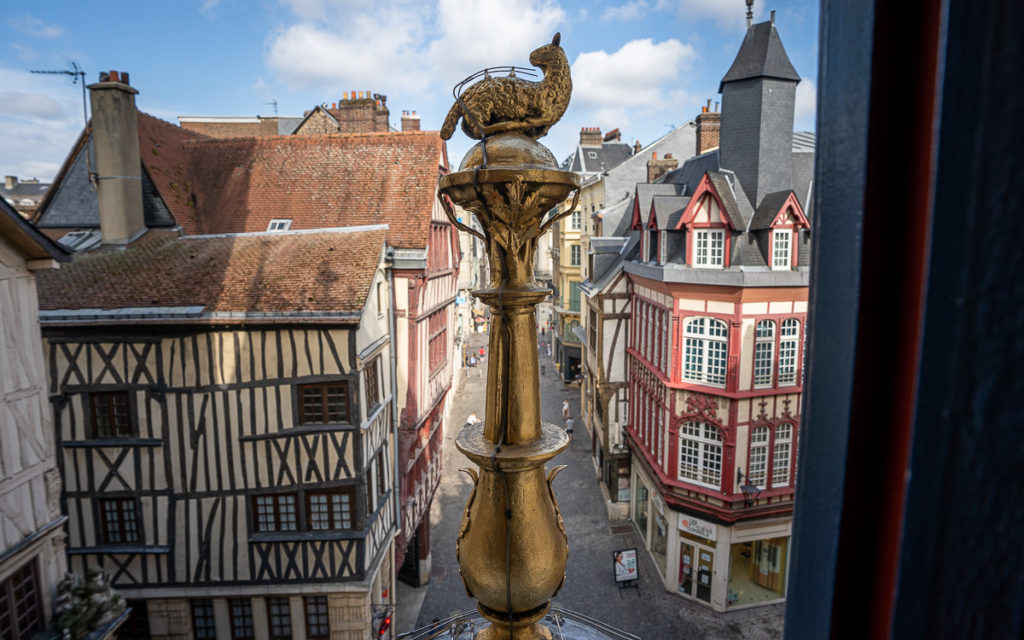Zeiger der Gros Horloge in Rouen