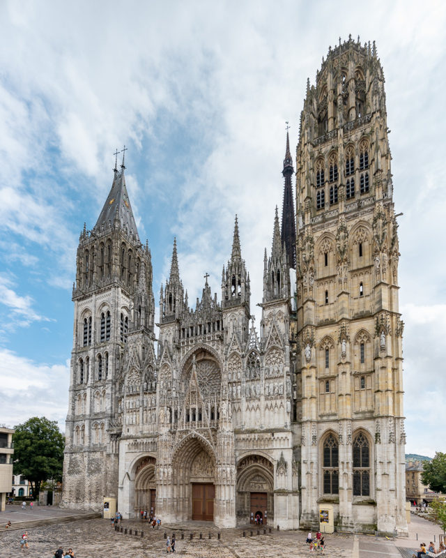 Kathedrale in Rouen Notre-Dame